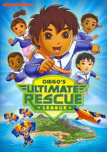 GO, DIEGO, GO!:DIEGO'S ULTIMATE RESCU BY GO DIEGO GO (DVD)